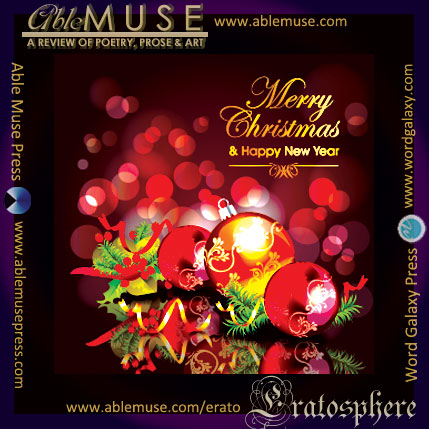 Merry Christmas & A Happy New Year - from Able Muse / Eratosphere